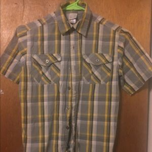Other - Boys button down short sleeve shirt